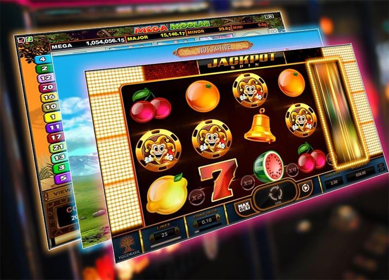 Popular jackpot slot games screens