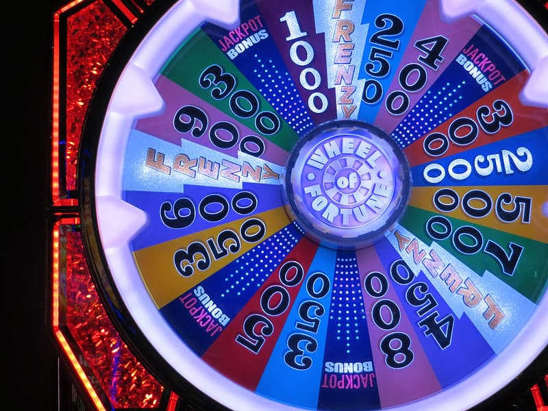 Wheel of Fortune slot screen